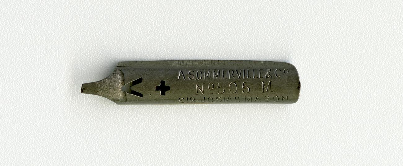 A.SOMMERVILE & Co SIR JOSAH MASON №505 M
