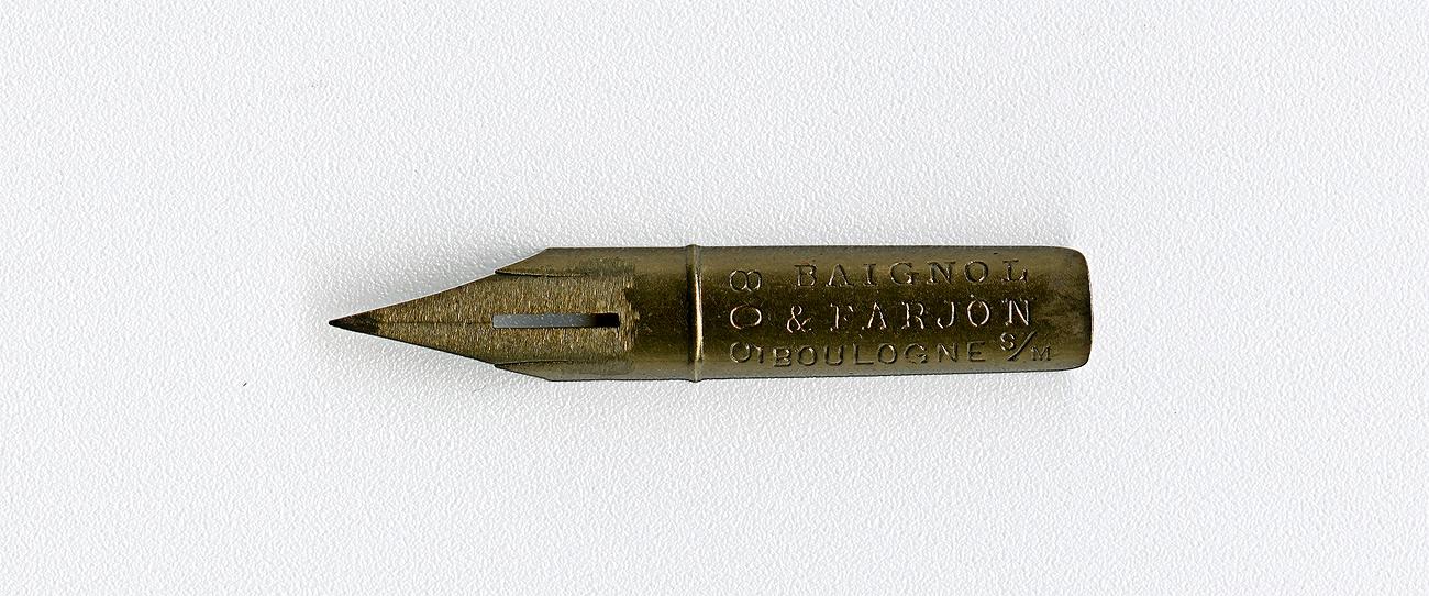 BAIGNOL & FARJON BOULOGNE S M 805 Cat