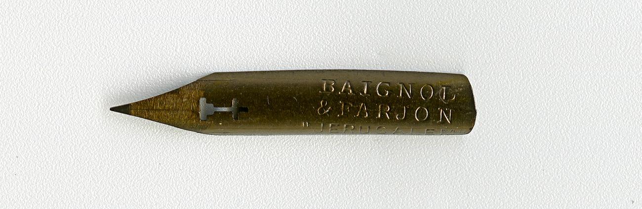 BAIGNOL & FARJON JERUSALEM 231 Cat