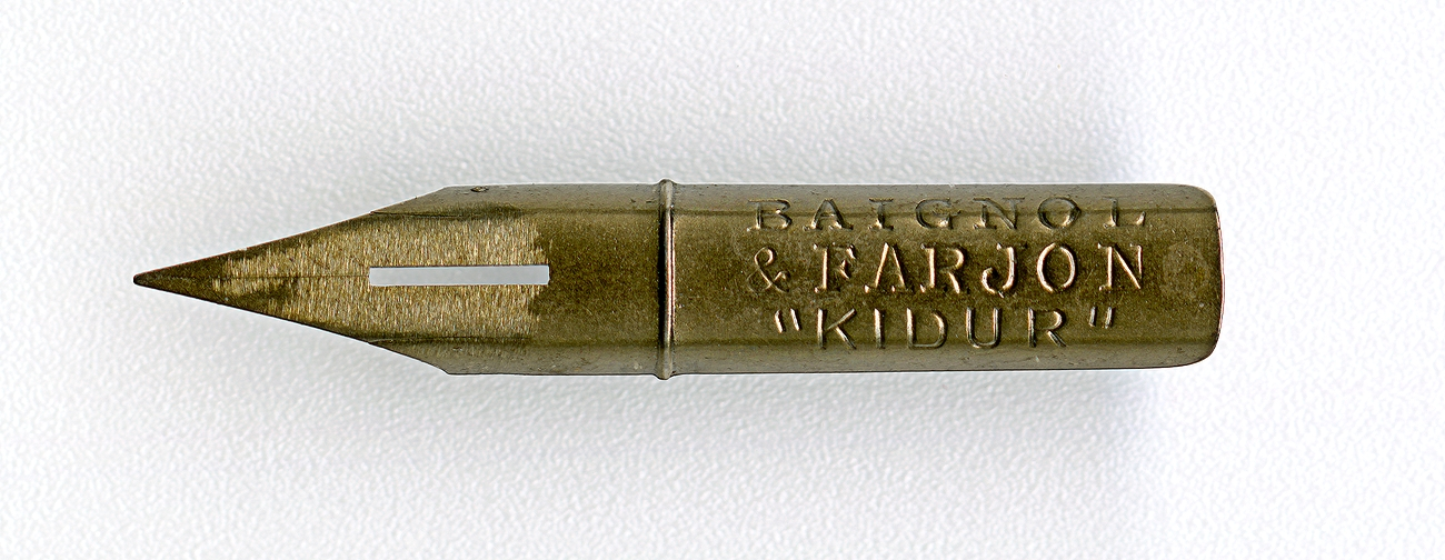 BAIGNOL & FARJON KIDUR 805 Cat