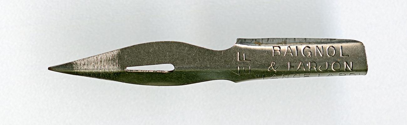 BAIGNOL & FARJON LANCE LARD EF 396 Cat