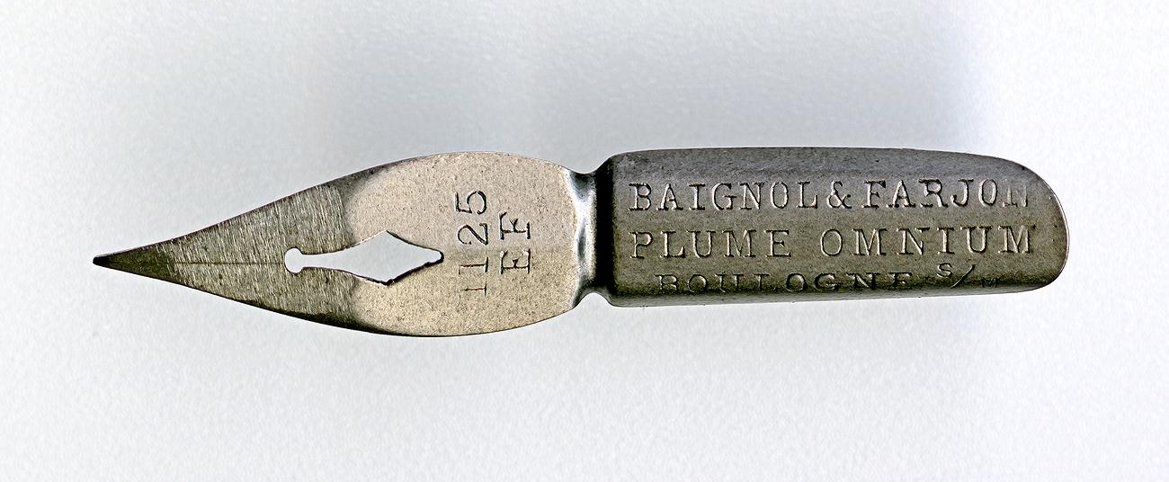 BAIGNOL & FARJON PLUME OMNIUM BOULOGNE S-m 1125 EF