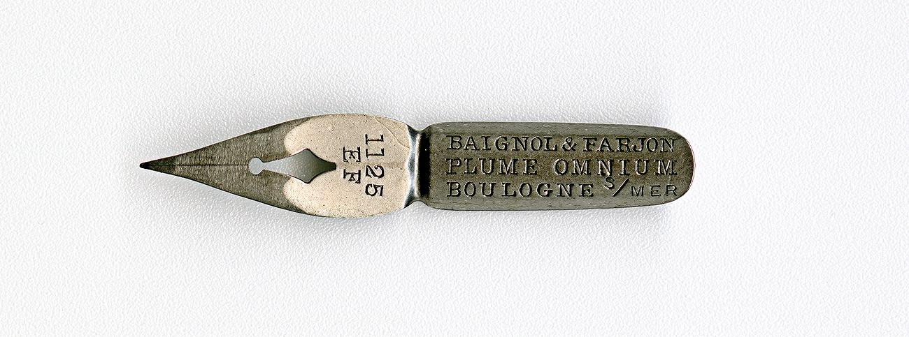 BAIGNOL & FARJON PLUME OMNIUM BOULOGNE S-mer 1125 EF