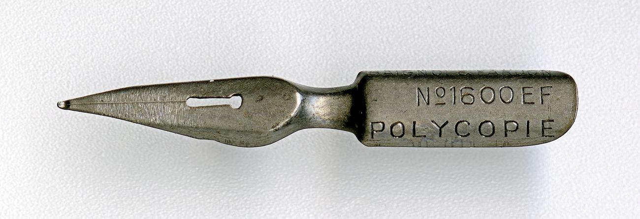 BAIGNOL & FARJON POLYCOPIE №1600 EF