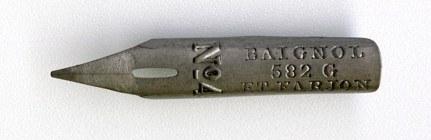 BAIGNOL & FARJON  582G ETALON №4