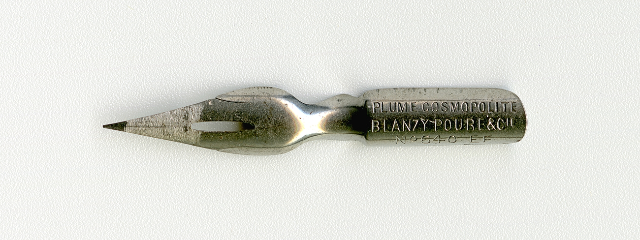 BLANZY POURE&Cie COSMOPOLITE №640 EF