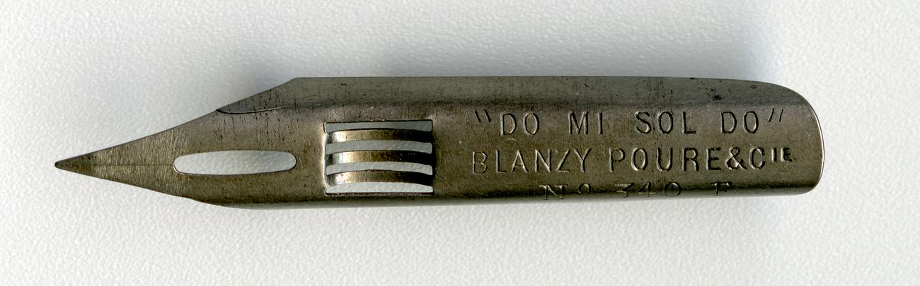 BLANZY POURE&Cie DO MI SOL DO №340 F