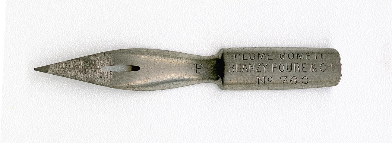 BLANZY POURE & Cie PLUME COMETE №760 F