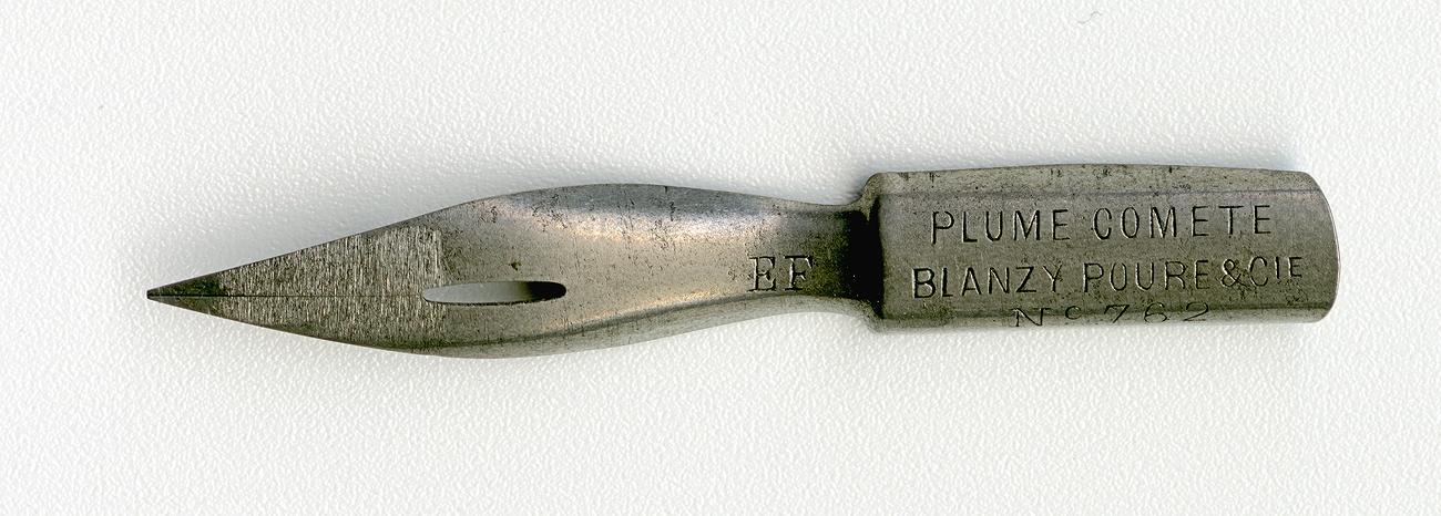 BLANZY POURE & Cie PLUME COMETE №762 EF