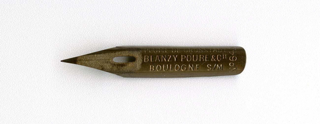 BLANZY POURE&Cie PLUME DE KRONSTADT BOULOGNE S-M №642