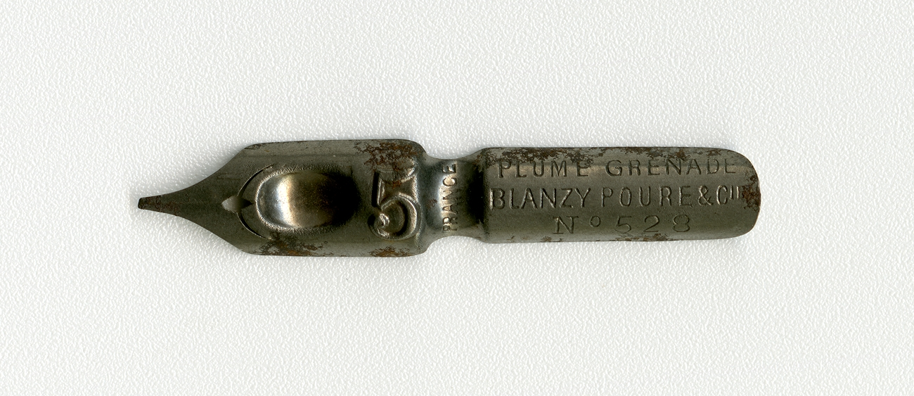 BLANZY POURE&Cie PLUME GRENADE FRANCE №528 5