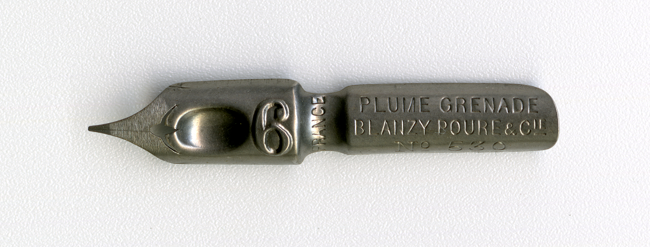 BLANZY POURE&Cie PLUME GRENADE №530 6