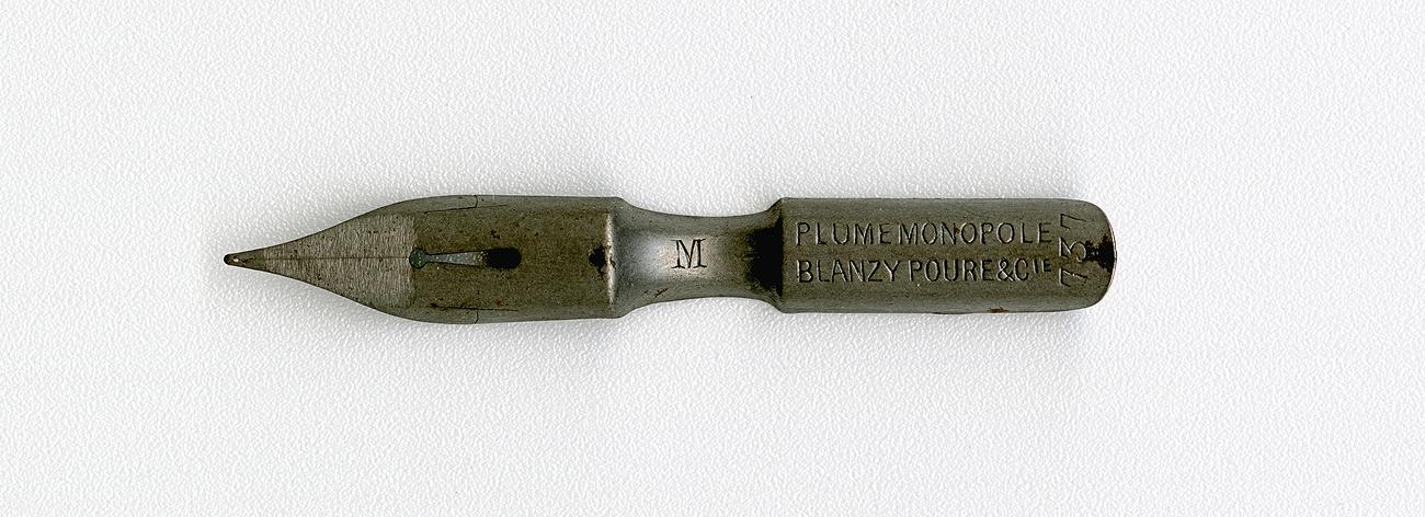 BLANZY POURE & Cie PLUME MONOPOLE №737 M