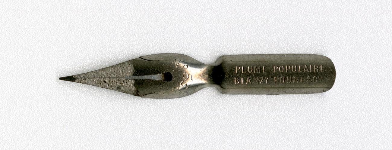BLANZY POURE&Cie PLUME POPULAIRI №538