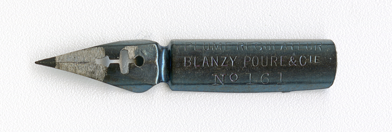 BLANZY POURE&Cie PLUME REGULATEUR №161 BLEUE
