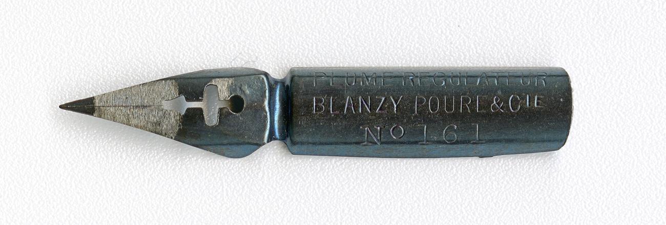 BLANZY POURE&Cie PLUME REGULATEUR №161 BLEUE