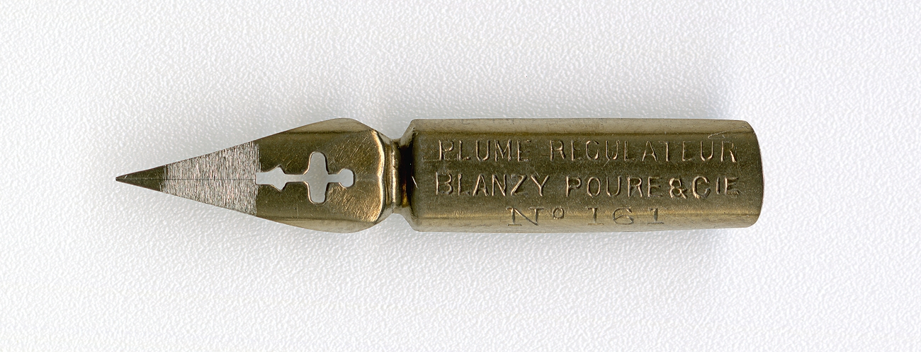 BLANZY POURE&Cie PLUME REGULATEUR №161 Br