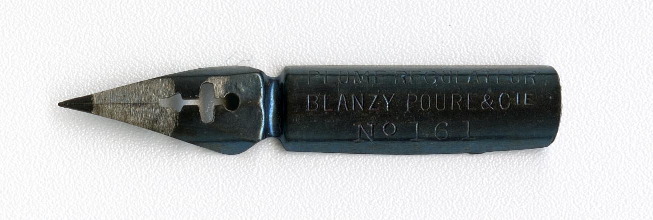 BLANZY POURE&Cie PLUME REGULATEUR №161