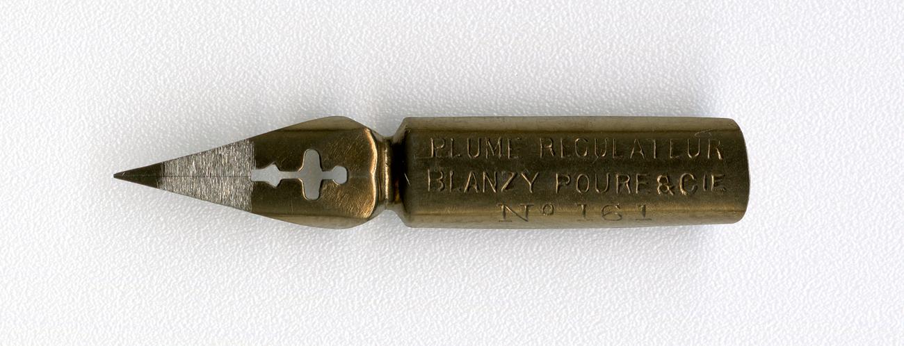 BLANZY POURE&Cie PLUME REGULATEUR №161 Br