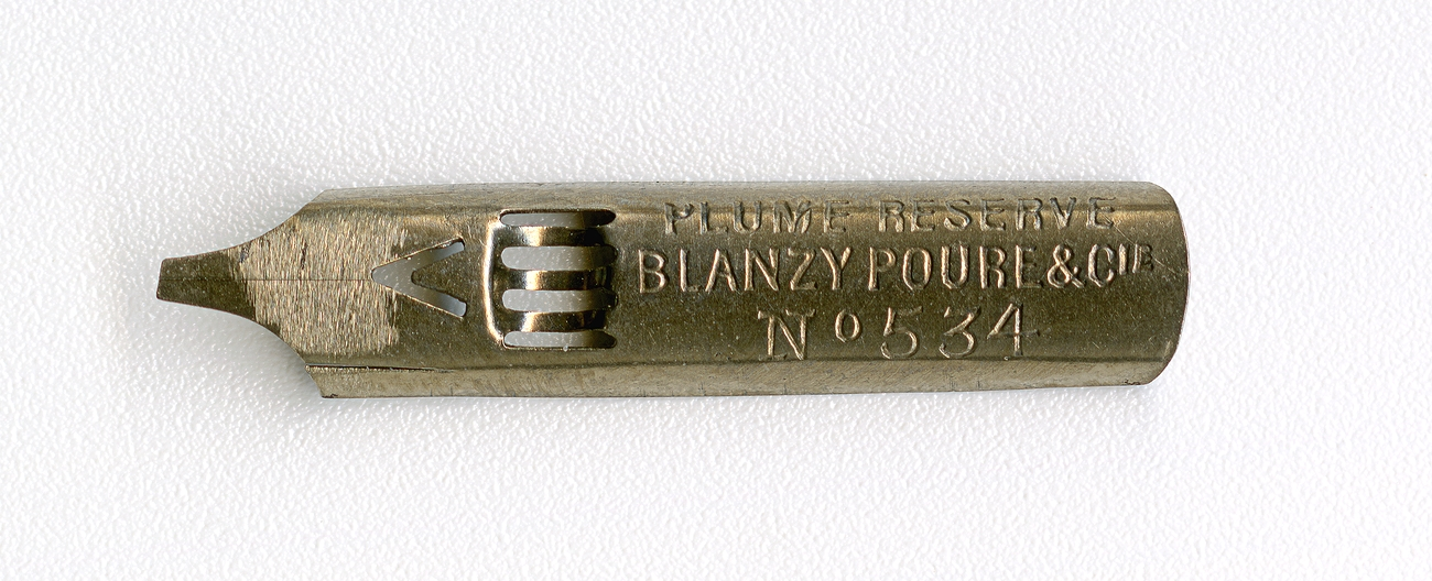 BLANZY POURE&Cie PLUME RESERVE №534