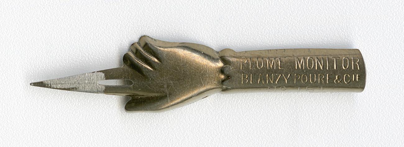 BLANZY POURE&Cie Plume MONITOR №151 Bronz