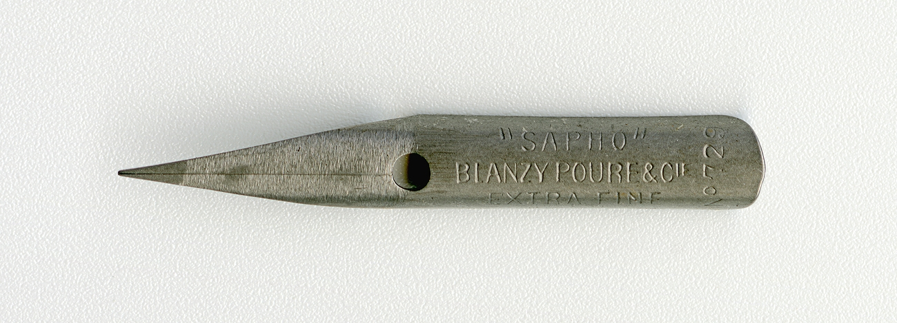 BLANZY POURE&Cie SAPHO №729 EF