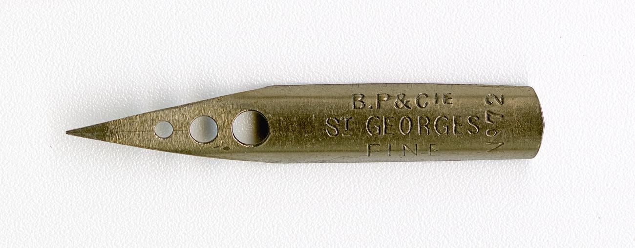 B P & Cie St GEORGES FAIN №72 Br