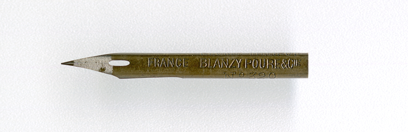 Blanzy Poure&Cie PLUME LILLIPUT FRANCE №320 2