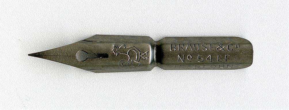 Brause&Co №54 EF IZERLOHN