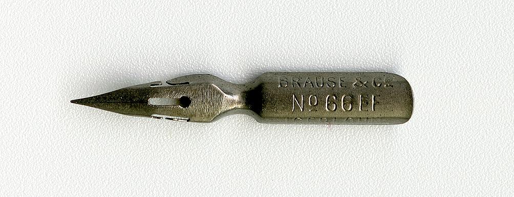Brause&Co №66 EF ASERLOHN