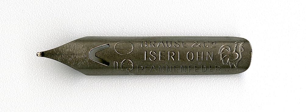 Brause&Co ISERLOHN PFANNENFEDER 50