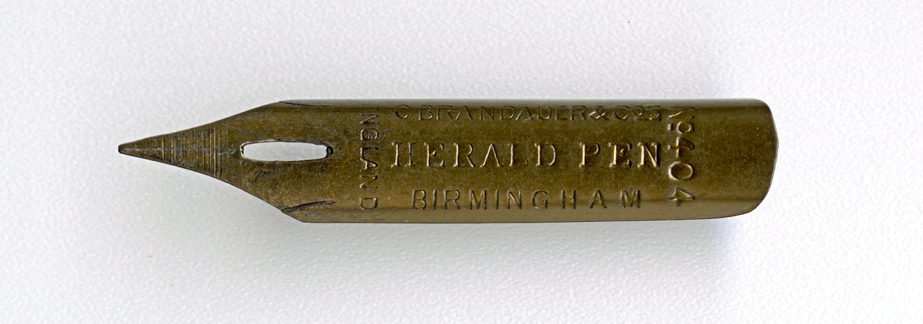 C.BRANDAUER&Co`S CHERALD PEN Birmingham England №404