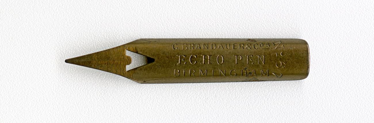C.BRANDAUER&Co`S ECHO PEN Birmingham №67