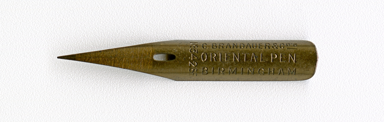 C.BRANDAUER&Co`S ORIENTAL PEN BIRMINGHAM №342