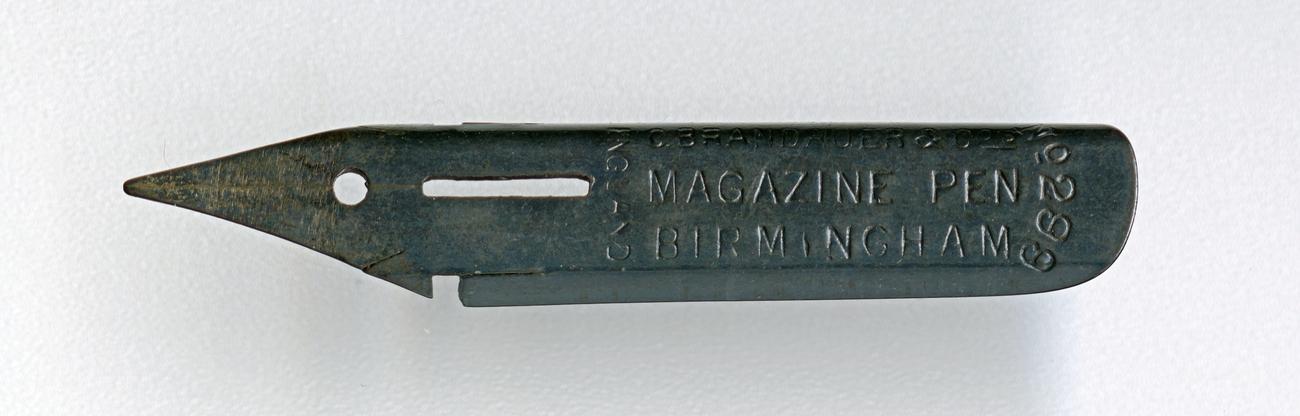 C.BRANDAUER&Co`s MAGAZINE PEN Birmingham ENGLAND №299