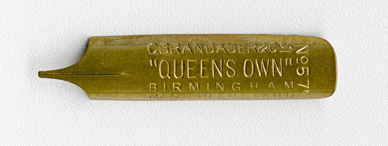 C.BRANDAUER&Co`s QUEEN`S OWN №570 Birmingham MADE In England