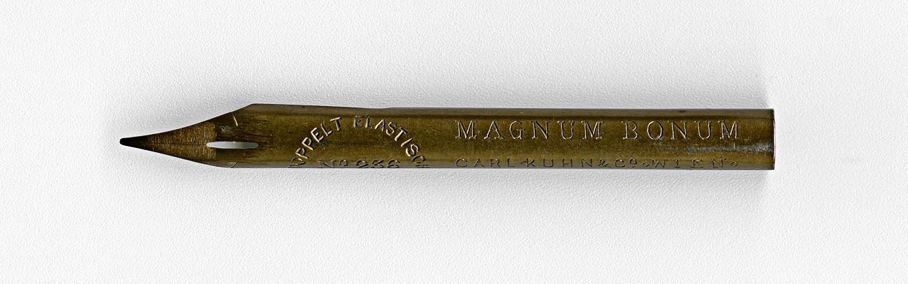 CARL KUHN & Co WIEN MAGNUM BONUM DOPPELT ELASTISCH №236 69mm
