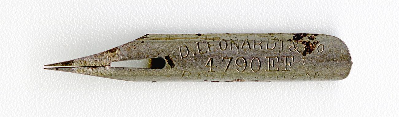D.LEONARDT&Co BIRMINGHAM EF №4790