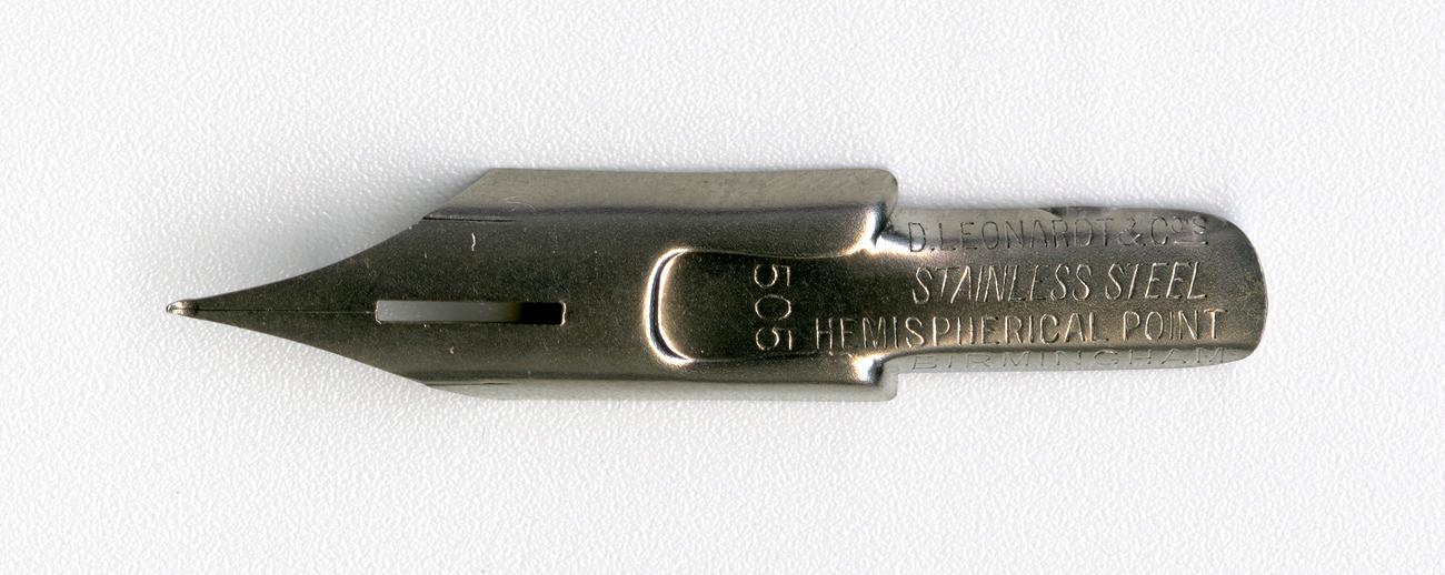 D.LEONARDT&Co STAINLESS STEEL HEMIPHERICAL POINT BERMINGHAM 505