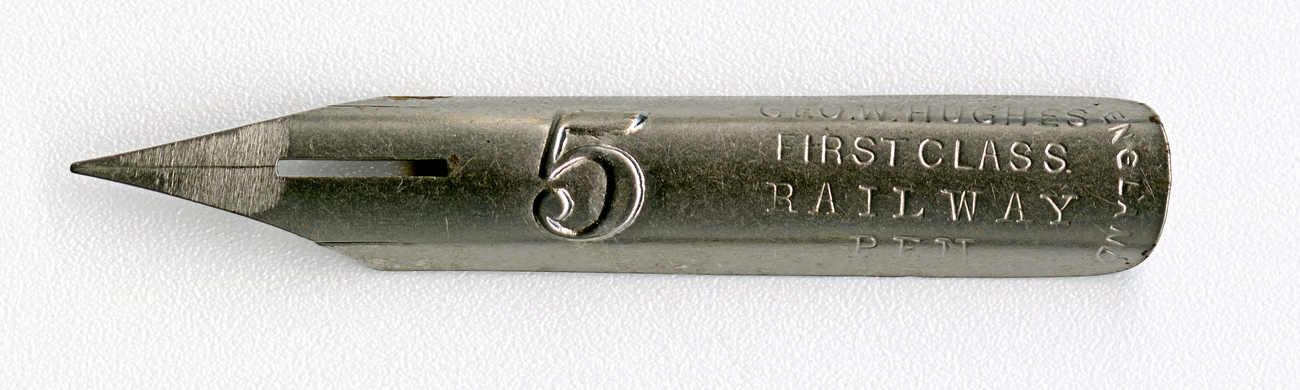 GEO.W.HUGHES FIRST CLASS RAIL WAY PEN 5 England