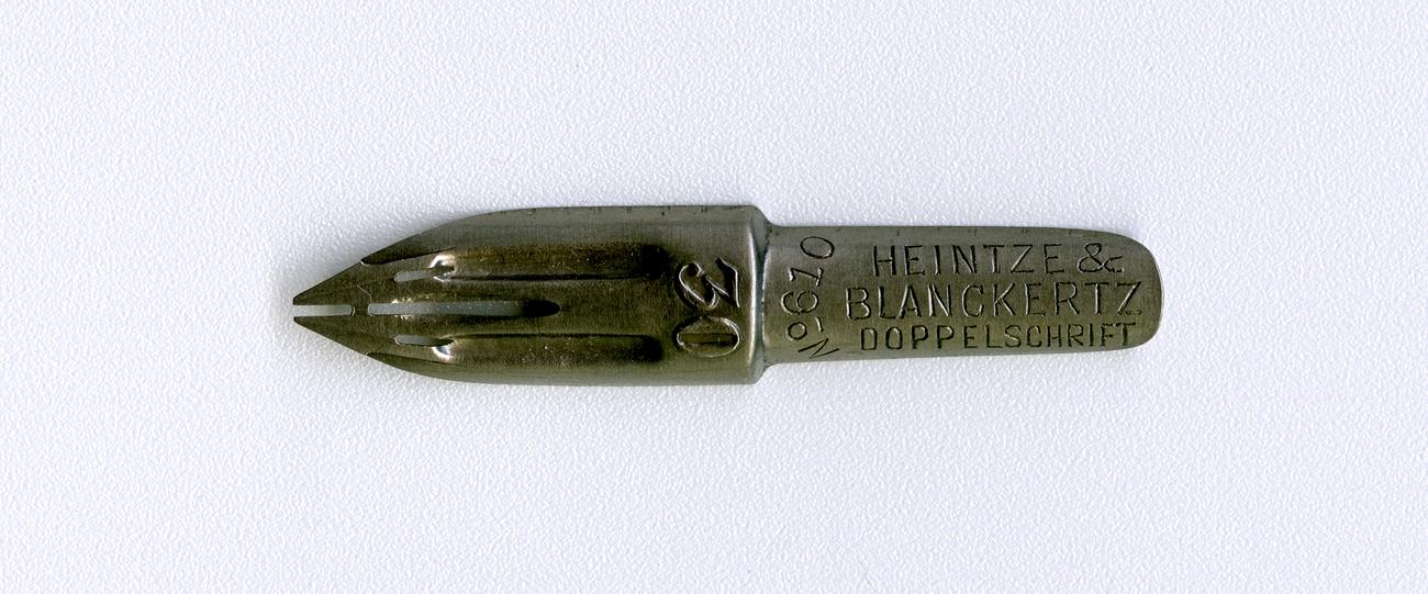 HEINTZE & BLANCKERTZ DOPPELSCHRIFT №610 30