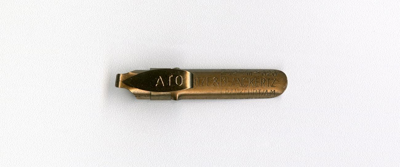 HEINTZE & BLANCKERTZ FRANKFURT A.M 2 1 2mm 626 ATO