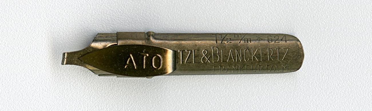 HEINTZE & BLANCKERTZ FRANKFURT A.M ATO 1 1 2 624