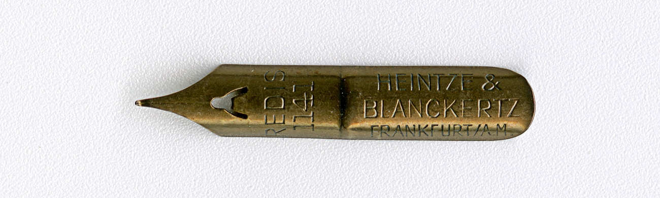 HEINTZE & BLANCKERTZ FRANKFURT A.M REDIS 1141