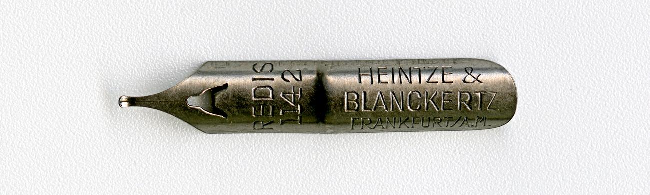 HEINTZE & BLANCKERTZ FRANKFURT A.M REDIS 1142
