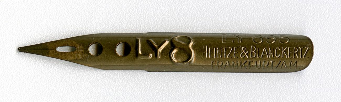 Heintze & Blanckertz FRANKFURT AM LY 695 LY8