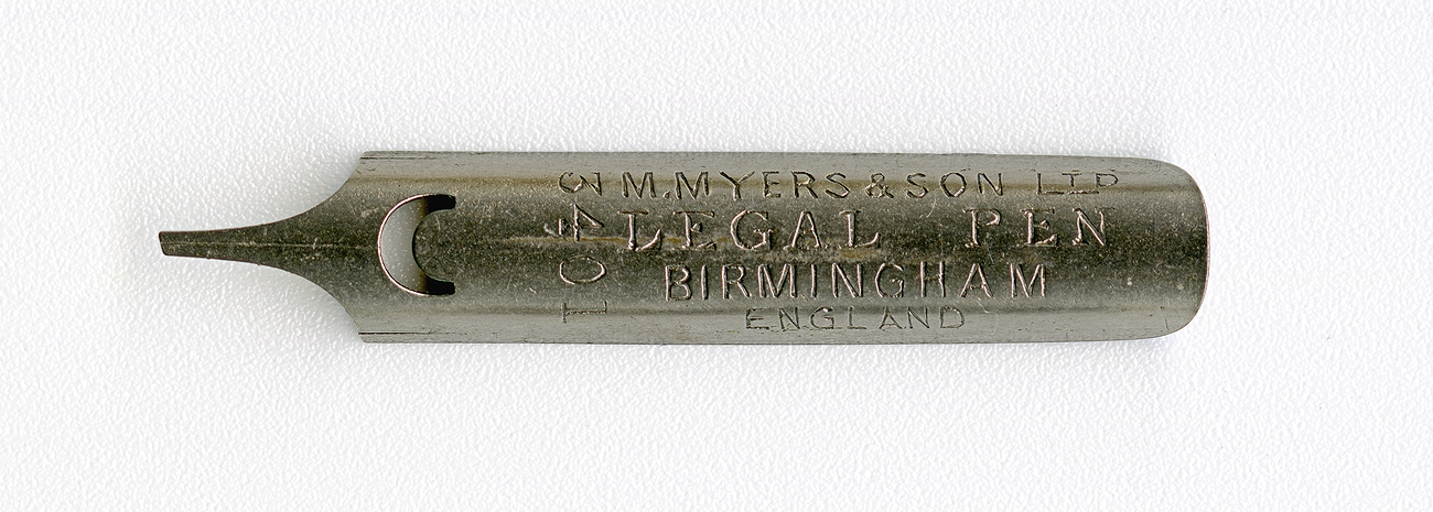 M.MYERS&SON Ltd LEGAL PEN BIRMINGHAM ENGLAND 3401
