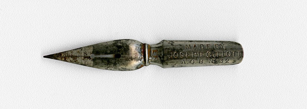 MADE BY JOSEPH GILLOTT А. О. В. №32 EF