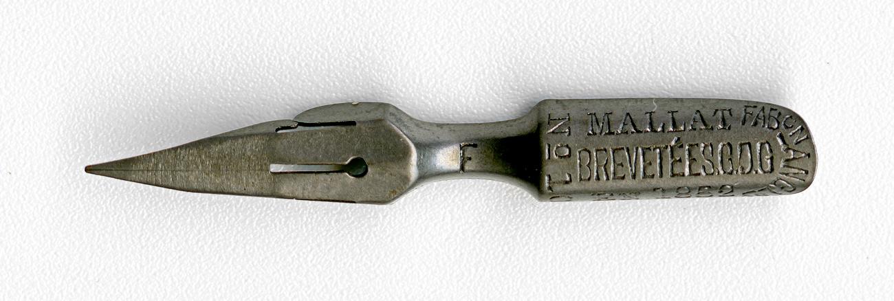 MALLAT BREVETEE S.G.D.G Fab On ANCL5e F EN 1852 №10