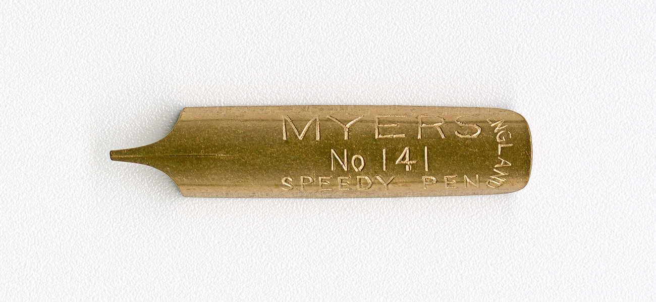 MYERS SPEEDY PEN ENGLAND №141